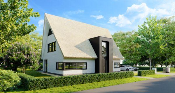 Nieuwbouw Rietgedekte Villa, Venray
